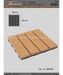 Vỉ Gỗ Nhựa Exwood ET01_wood