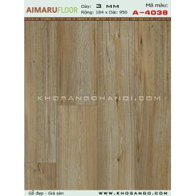 Sàn nhựa AIMARU A-4038