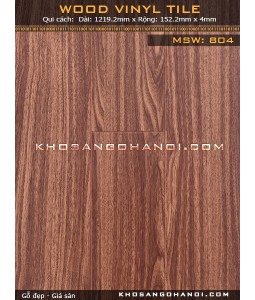 Vinyl Flooring Wood MSW804