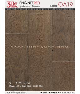 Sàn gỗ 3K Engineered OA19