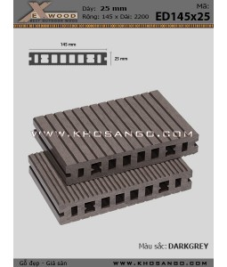 Exwood Decking ED145x25-8-darkgrey