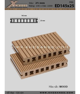 Exwood Decking ED145x25-8-wood