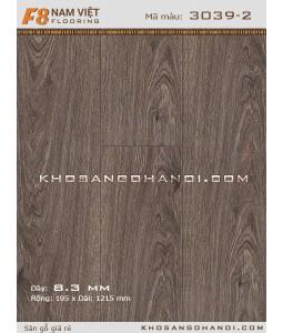 Sàn gỗ Nam Việt F8 3039-2