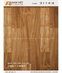 Sàn gỗ Nam Việt F8 3114-2