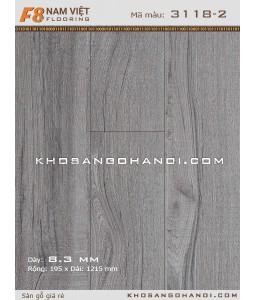 Sàn gỗ Nam Việt F8 3118-2