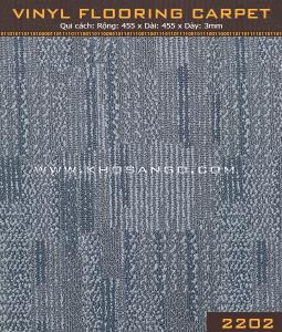 Sàn nhựa vân thảm 2202
