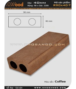 Awood Railing R90x40-T Coffee