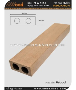 Awood Railing R90x40-T Wood