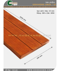 Sàn gỗ CONWOOD DECK 12