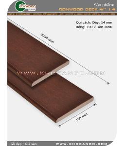 """Sàn gỗ CONWOOD DECK 4""""14"""