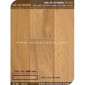 Sàn gỗ Cà chít 600mm