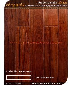 Sàn gỗ  cẩm lai 1050mm
