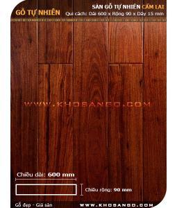Sàn gỗ  cẩm lai 600mm