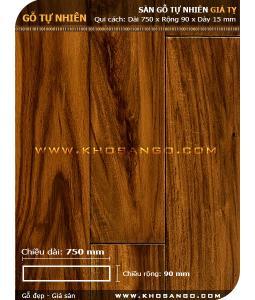Sàn gỗ  Giá tỵ ( Teak ) 750mm