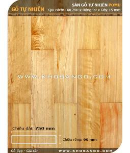 Sàn gỗ Pơmu 750mm