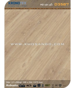 Kronotex Flooring D3587- 12mm