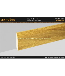 Laminate skirting AP401