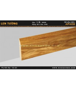 Laminate skirting AP402