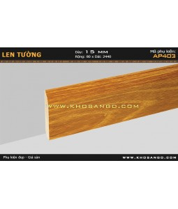 Laminate skirting AP403