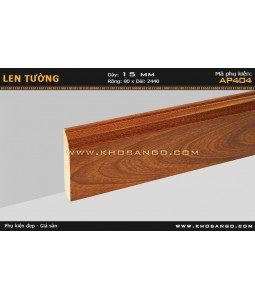 Laminate skirting AP404