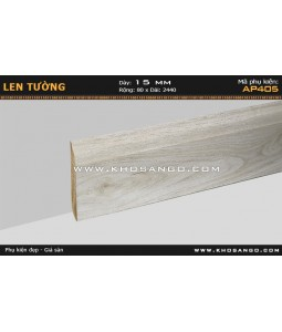 Laminate skirting AP405