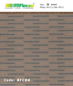 Sàn nhựa Raiflex RFC04