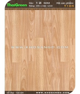 Sàn gỗ ThaiGreen T104