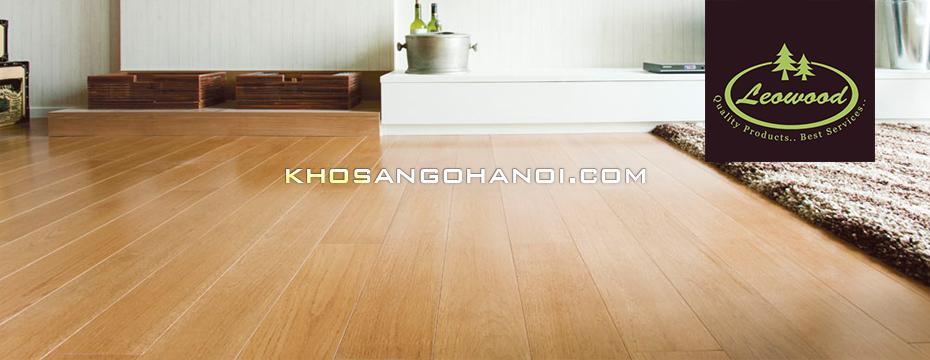 sàn gỗ leowood tại Hà Nội