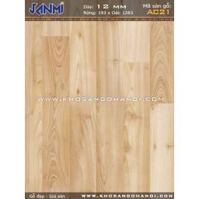 Sàn gỗ JANMI AC21-12mm
