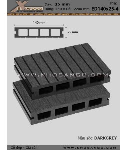 Exwood Decking ED140x25-4-darkgrey