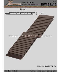 Ốp Tường Exwood EW158x12_darkgrey