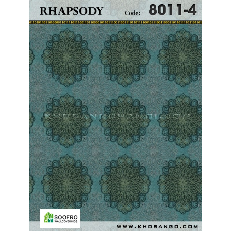 Wallpaper Rhapsody 8011-4