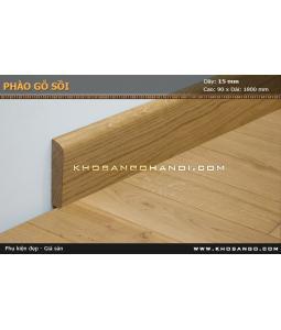 Phào gỗ sồi