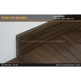 Phào gỗ walnut