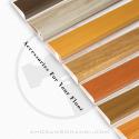 pvc flooring accessories (PVC  profile)