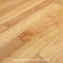 Rubber hardwood flooring