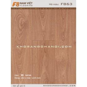 Sàn gỗ Nam Việt F8 863