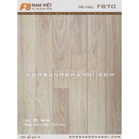 Sàn gỗ Nam Việt  F8 870