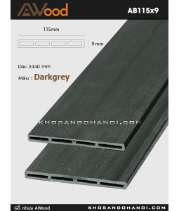 AWood AB115x9-darkgrey