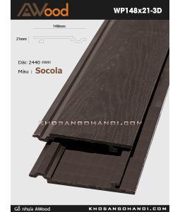 Awood WP148x21-3D-socola