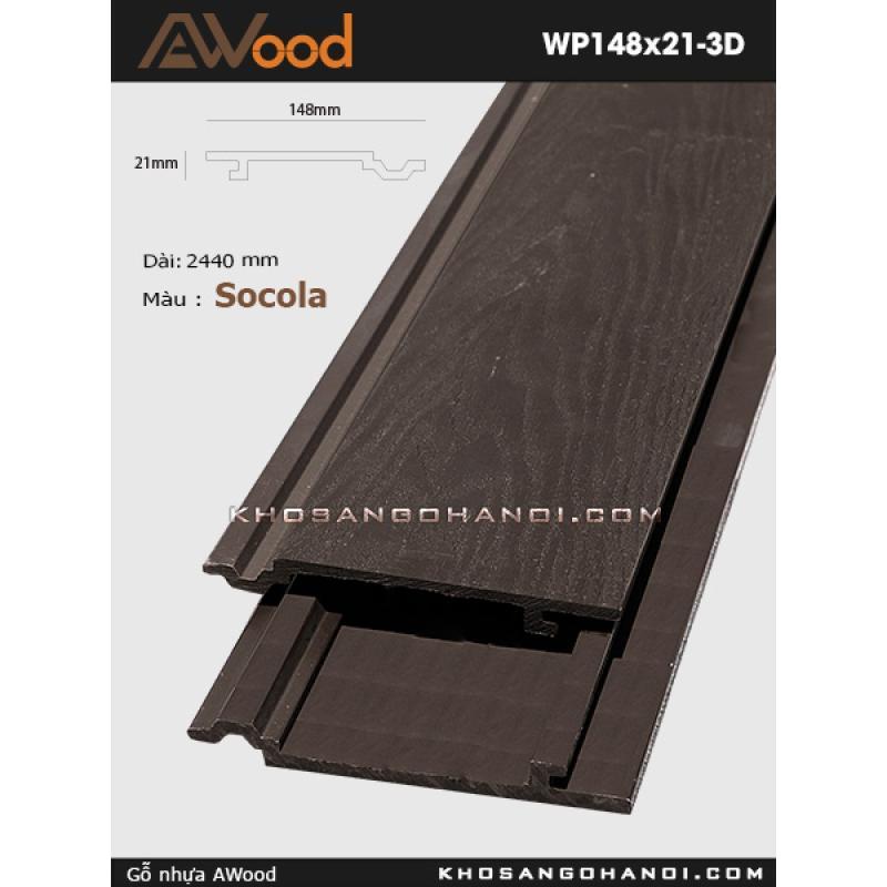 Awood Wp148x21 3d Socola