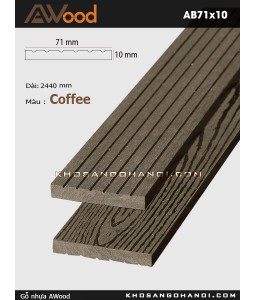 AWood AB71x10-coffee