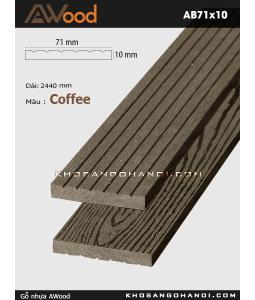 Awood AB71x10-coffee