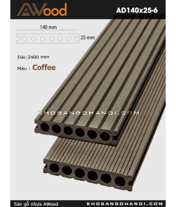 Awood Decking AD140x25-6-Coffee