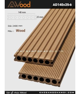 Awood Decking AD140x25-6-Wood