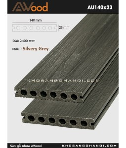 Sàn gỗ Awood AU140x23-Silvery Grey