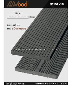 Sàn gỗ Awood SD151x10-Darkgrey