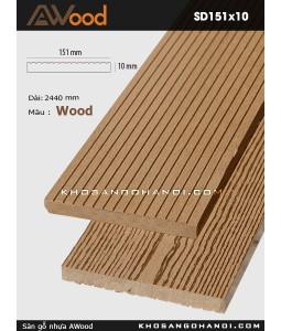 Awood Decking SD151x10-Wood
