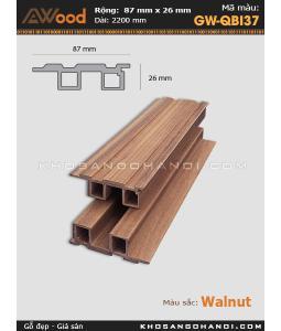Sàn gỗ Awood GW-QBI37-Walnut
