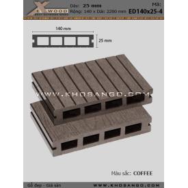 Sàn gỗ Exwood ED140x25-4-coffee